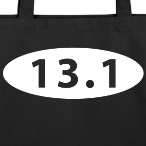 13.1 half marathon Bags  - Eco-Friendly Cotton Tote