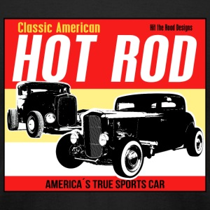 Hot Rod - Classic American Sports Car - Men's T-Shirt by American Apparel