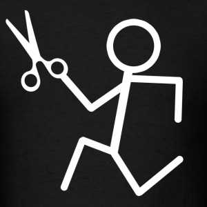 Running Scissors - Men's T-Shirt