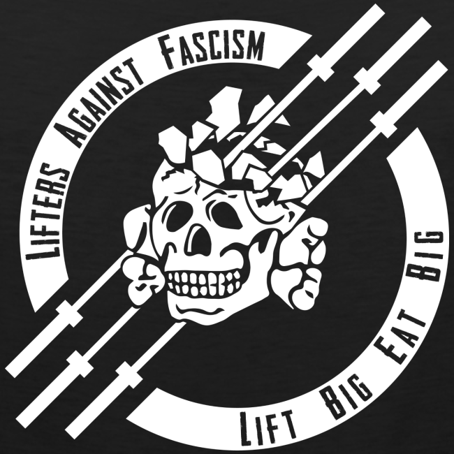 Lifters Against Fascism tank