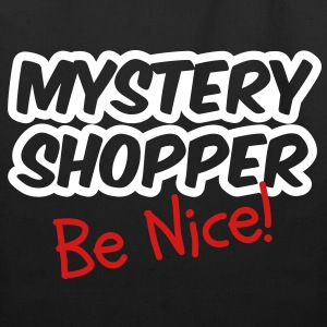 Mystery Shopper - Be Nice! Bags  - Eco-Friendly Cotton Tote