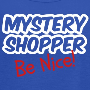 Mystery Shopper - Be Nice! Tanks - Women's Flowy Tank Top by Bella
