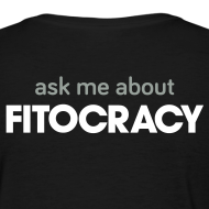 Design ~ Fitocracy - Ask Me About - Women's Black Regular Tee