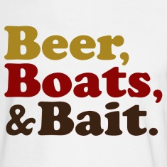 Beer Boats and Bait Fishing Long Sleeve Shirts