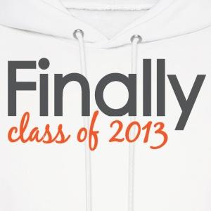 Finally Class of 2013 Grad Hoodies - Men's Hoodie