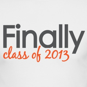 Finally Class of 2013 Grad Long Sleeve Shirts - Men's Long Sleeve T-Shirt by Next Level