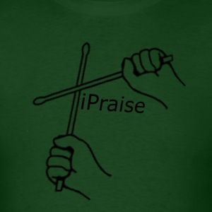 drums sticks  iPraise - Men's T-Shirt
