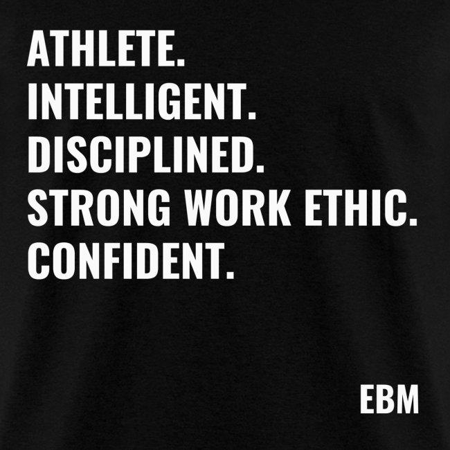 Empowered Black Male T shirts by Lahart | Athlete Intelligent