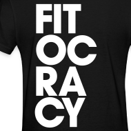 Design ~ Fitocracy - Syllable - Women's Black RegularTee