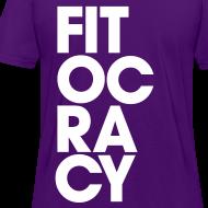 Design ~ Fitocracy - Syllable - Women's Purple RegularTee