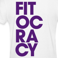 Design ~ Fitocracy - Syllable - Women's White RegularTee