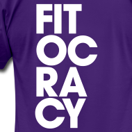 Design ~ Fitocracy - Syllable - Men's Purple Regular Tee