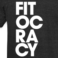 Design ~ Fitocracy - Syllable - Men's Black Vintage Tee