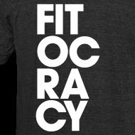 Design ~ Fitocracy - Syllable - Men's Black Vintage Tee