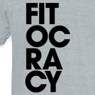 Design ~ Fitocracy - Syllable - Men's Gray Vintage Tee