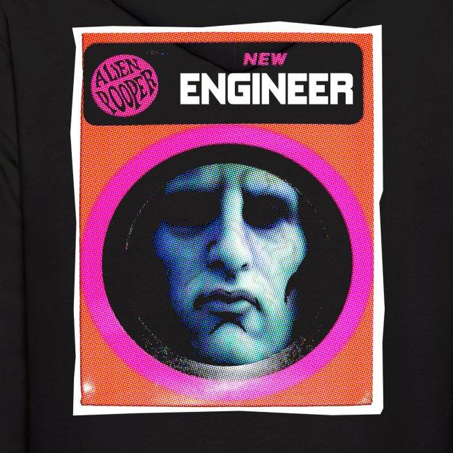 Engineer Costume Men's Halloween Hoodie