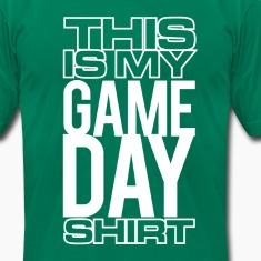 This Is My Game Day Shirt - T-Shirt T-Shirts