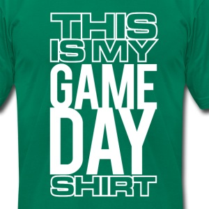 This Is My Game Day Shirt - T-Shirt T-Shirts - Men's T-Shirt by American Apparel