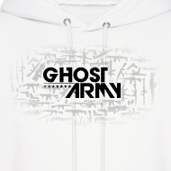 Design ~ GhostArmy White Pullover Hoodie of awesomeness!