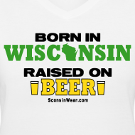 Design ~ Born in Wisconsin (Digital Print)