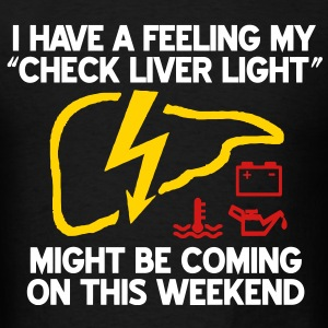 Check Liver Light T-Shirts - Men's T-Shirt