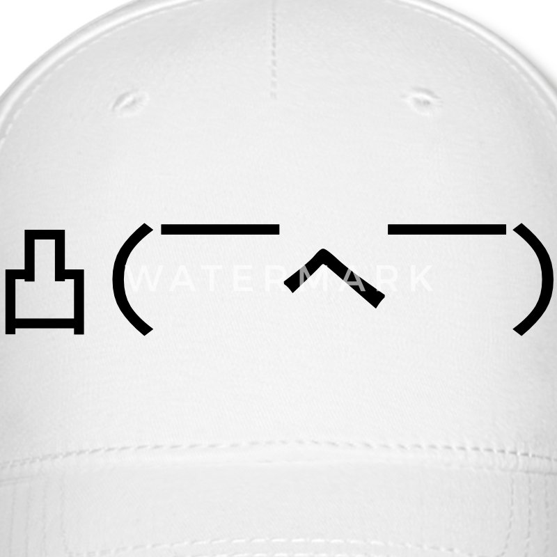 Angry Japanese Emoticon Caps - Baseball Cap