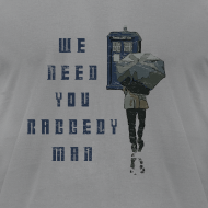 Design ~ We Need You Raggedy Man - Doctor Who | Robot Plunger