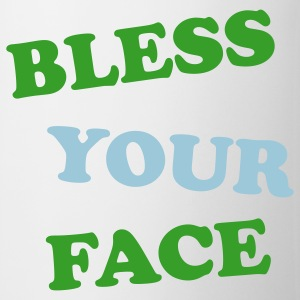 Bless Your Face New Apparel - Coffee/Tea Mug