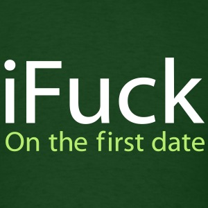 i Fuck On The First Date  -St Patrick's Day edition. - Men's T-Shirt
