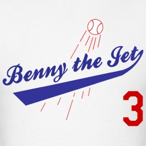 Benny The Jet 3 Sandlot Jersey T-Shirt - Men's T-Shirt