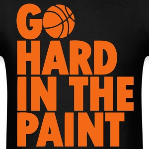 Go Hard In the Paint T-Shirts - Men's T-Shirt