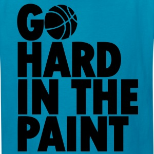 Go Hard In the Paint Kids' Shirts - Kids' T-Shirt