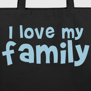 I LOVE MY FAMILY  so cute! Bags  - Eco-Friendly Cotton Tote