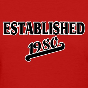 Established 1980 Women's T-Shirts - Women's T-Shirt