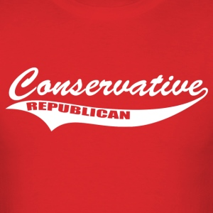 Conservative Republican - Men's T-Shirt