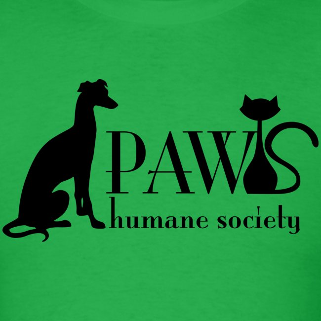 PAWS Logo Black