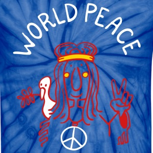 World Peace T-Shirts - Unisex Tie Dye T-Shirt