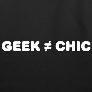 Geek Not Chic Bags  - Eco-Friendly Cotton Tote