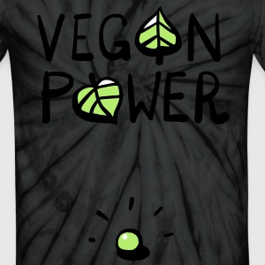 Vegan Power T-Shirts - Unisex Tie Dye T-Shirt