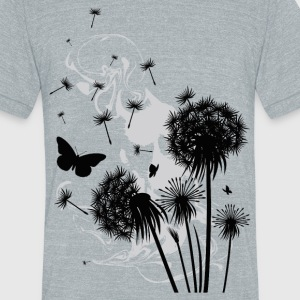 Dandelion - Unisex Tri-Blend T-Shirt by American Apparel