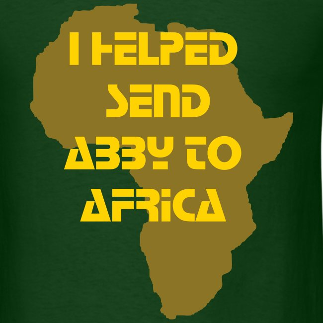 I Helped Send Abby to Africa (Men's)