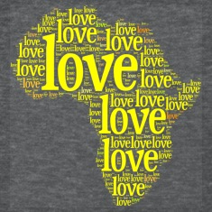 Africa Yellow Love Women's T-Shirts