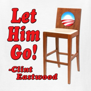 Let Him Go Obama Empty Chair Kids' Shirts - Kids' T-Shirt