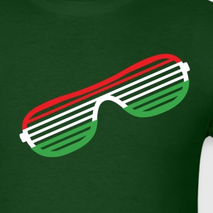 Italy Striped Glasses T-Shirts - Men's T-Shirt