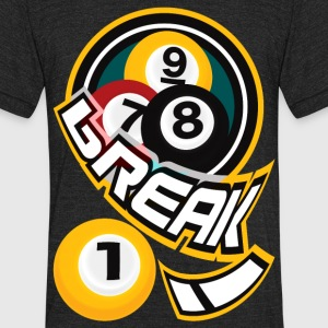 break! - Unisex Tri-Blend T-Shirt by American Apparel