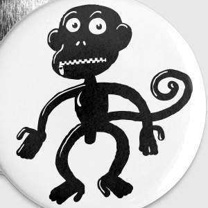 Fetish Monkey Buttons - Large Buttons