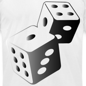 Dice (dd)++ T-Shirts - Men's T-Shirt by American Apparel