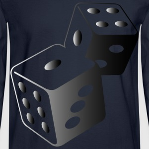 Dice (dd)++ Long Sleeve Shirts - Men's Long Sleeve T-Shirt