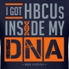 HBCU DNA Shirt - Men's Navy, Gray, and Orange T-shirt - Men's T-Shirt