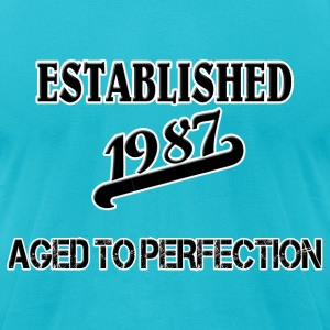 Established 1987 T-Shirts - Men's T-Shirt by American Apparel
